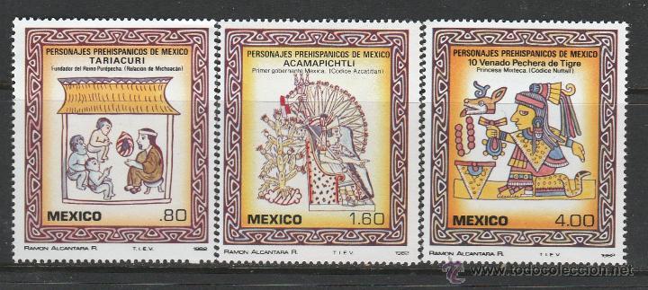 MEXICO 1982.SERIE.PERSONALIDADES PRE-HISPANICAS. **,MNH (Sellos - Extranjero - América - México)