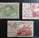Sellos: 1965 - MÉXICO - ARQUEOLOGÍA, ARQUITECTURA MODERNA Y COLONIAL (USADOS). Lote 56523210