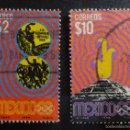 Sellos: 1968 - MÉXICO - XIX OLIMPIADA (USADOS). Lote 56523238