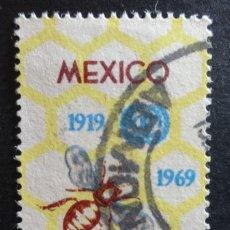 Sellos: 1969 - MÉXICO - CENTENARIO (USADOS). Lote 56523315