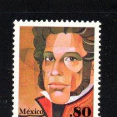 Francobolli: MÉXICO 920** - AÑO 1981 - 150º ANIVERSARIO DE LA MUERTE DEL LIBERTADOR VICENTE GUERRERO. Lote 126032919