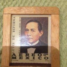 Sellos: SELLO MEXICO 1982 1,2 PESOS BENITO JUAREZ. Lote 57998281