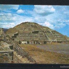 Sellos: MEXICO COREO AÉREO. 1973 - TARJETA RECUERDO DIRIGIDA DESDE MEXICO A COLOMBIA. Lote 59251870