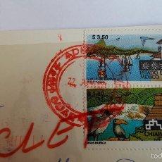 Sellos: POSTAL CIRCULADA DE MEXICO- GUADALAJARA- EL 22 DE JUNIO DE 2001 - . Lote 60432911