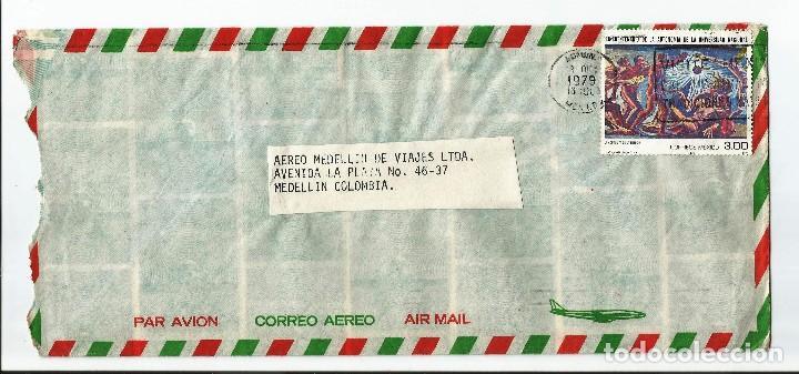 MEXICO CORREO AÉREO. 1979 - HISTORIA POSTAL. CARTA VOLADA DE MEXICO A COLOMBIA (Sellos - Extranjero - América - México)