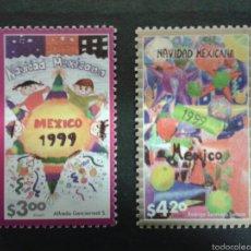 Sellos: SELLOS DE MÉXICO. YVERT 1997/8. SERIE COMPLETA NUEVA SIN CHARNELA. NAVIDAD.. Lote 62715940