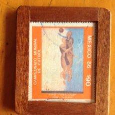 Sellos: SELLO CIRCULADO MEXICO MUNDIAL DE FUTBOL 86. Lote 68302801