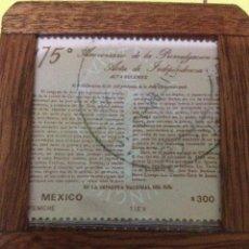 Sellos: SELLO 175 ANIVERSARIO DEL ACTA DE PROCLAMACION DE LA INDEPENDENCIA. Lote 68876993