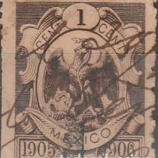 Sellos: 1905-6. MEXICO .1Ç. *.MH (17-529) . Lote 79082117