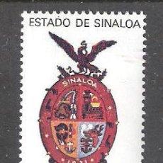 Francobolli: MÉXICO 911** 150 ANIVERSARIO DE LA CREACIÓN DEL ESTADO DE SINALOA. COMPLETA. Lote 85643792