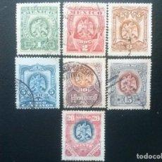 Sellos: MÉJICO MÉXICO , YVERT Nº 180 - 186 , 1899. Lote 86989332