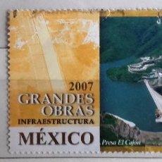 Sellos: MÉXICO, 2 SELLOS USADOS DIFERENTES . Lote 93678105