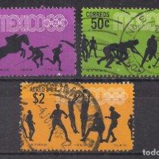 Francobolli: MEJICO 1967 - USADO. Lote 100894755
