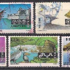 Sellos: MEJICO 1993-1996 - USADO. Lote 100919751