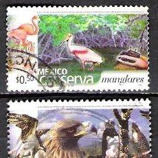 Sellos: MEJICO 2002 - USADO. Lote 100921463