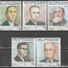 Sellos: MEXICO.1982. ARTE Y CIENCIA *.SERIE. *MH. Lote 105637331