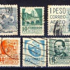 Sellos: MEXICO.- VARIOS SELLOS USADOS.-. Lote 109295647