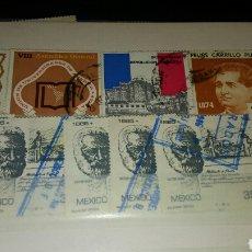 Sellos: ÁLBUM 9 MAS DE 400 SELLOS DE MÉXICO DIFERENTES. Lote 110570451