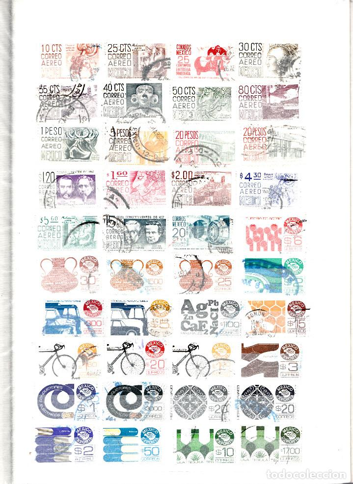 Sellos: COLECCION DE 230 SELLOS DISTINTOS DE MÉXICO - Foto 3 - 124651439