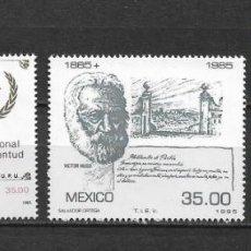 Sellos: MEXICO 1985 ** MNH 4 SERIES COMPLETAS - 2/1. Lote 144604114