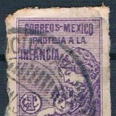 Sellos: MÉXICO 1929 IMPUESTOS POSTALES USADO. Lote 144804542
