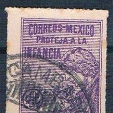 Sellos: MÉXICO 1929 IMPUESTOS POSTALES USADO. Lote 144804558