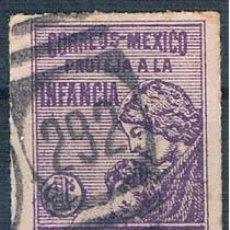 Sellos: MÉXICO 1929 IMPUESTOS POSTALES USADO. Lote 144804602