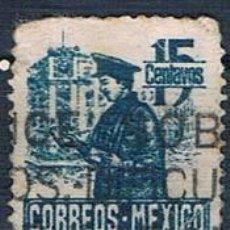 Sellos: MÉXICO 1947 Y 617 USADO. Lote 144804830