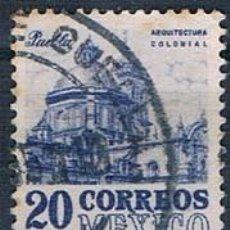 Sellos: MÉXICO 1950 Y 631 USADO. Lote 144805762