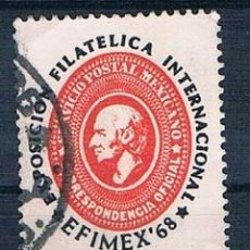 Sellos: MÉXICO 1968 Y PA286 USADO . Lote 144806374