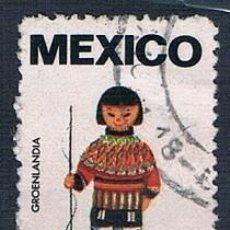 Sellos: MÉXICO 9 VIÑETAS 9 FOTOGRAFÍAS. Lote 144806810