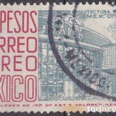 Sellos: 1950 - MEXICO - ARQUITECTURA MODERNA - MEXICO D.F. - YVERT PA 175C. Lote 151140502