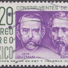 Sellos: 1956 - MEXICO - CENTENARIO DE LA CONSTITUCION - YVERT PA 198. Lote 151142918