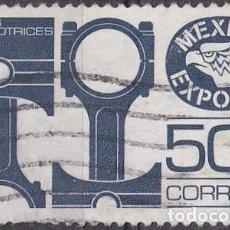 Sellos: 1975 - MEXICO EXPORTA - PARTES AUTOMOTRICES - YVERT 825D. Lote 151186962