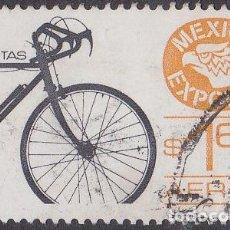 Sellos: 1975 - MEXICO EXPORTA - BICICLETAS - YVERT PA 405. Lote 151187354