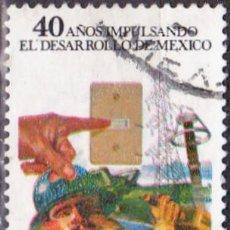 Sellos: 1977 - MEXICO - COMISION FEDERAL DE ELECTRICIDAD - MICHEL 1550. Lote 151188450