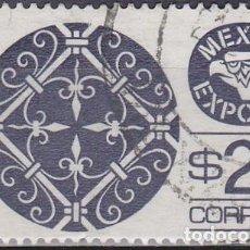 Sellos: 1978 - MEXICO EXPORTA - HIERRO FORJADO - YVERT 862. Lote 151188858