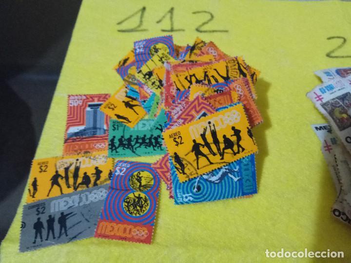 Sellos: Lote Pack Conjunto 712 Sellos Mexico Mejico Sello mix Carta sobre envio Correos aereo - Foto 12 - 151837554