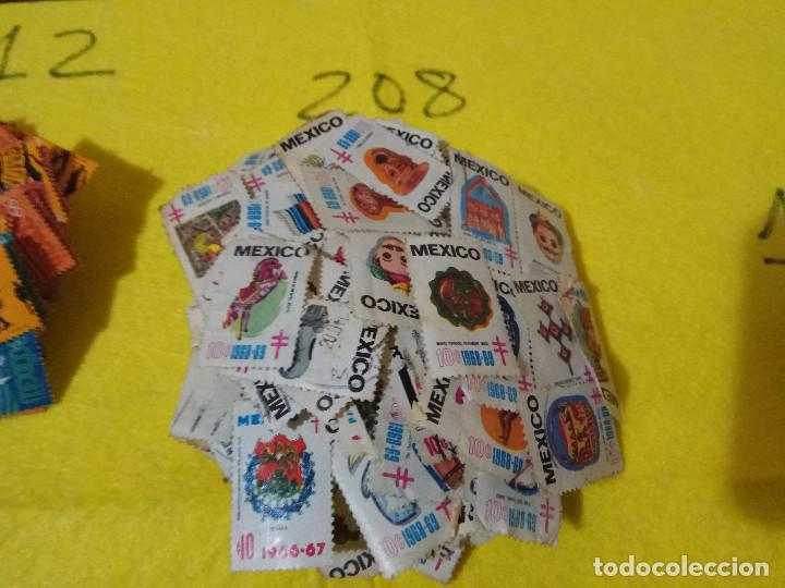 Sellos: Lote Pack Conjunto 712 Sellos Mexico Mejico Sello mix Carta sobre envio Correos aereo - Foto 13 - 151837554