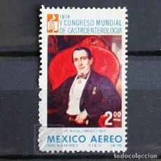 Sellos: MÉXICO 1975 ** NUEVO ** MNH ** CONGRESO DE GASTROENTEROLOGÍA. Lote 154425310