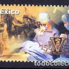 Francobolli: MEXICO 2003 150 AÑOS DE LA ESCUELA MEXICANA DE VETERINARIA. Lote 156536366