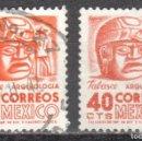 Sellos: MEXICO - DOS SELLOS - IVERT #633 - ***IMAGENES LOCALES***- AÑO 1951 - USADOS. Lote 159025586