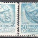 Sellos: MEXICO - DOS SELLOS - IVERT #634 - ***IMAGENES LOCALES***- AÑO 1950 - USADOS. Lote 159027062