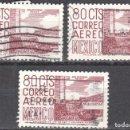 Sellos: MEXICO - TRES SELLOS - IVERT #174A - ***IMAGENES LOCALES***- AÑO 1952 - USADOS. Lote 159028846