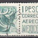 Sellos: MEXICO - DOS SELLOS - IVERT #175 - ***IMAGENES LOCALES***- AÑO 1950 - USADOS. Lote 159029094