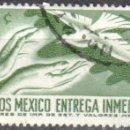 Sellos: MEXICO - UN SELLO - IVERT #E12 - ***ENTREGA INMEDIATA***- AÑO 1962 - USADO. Lote 159031878