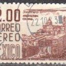 Sellos: MEXICO - UN SELLO - IVERT #A227A - ***IMAGENES LOCALES***- AÑO 1962 - USADO. Lote 159032534