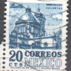 Sellos: MEXICO - UN SELLO - IVERT #703 - ***IMAGENES LOCALES***- AÑO 1964 - USADO. Lote 159036010