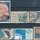 Sellos: MEXICO 1903 / 80 - MICHEL 240 + 985 + 988 + 1096 + 1664 + 1703 ( USADOS ). Lote 159994838