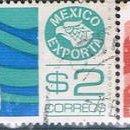 Sellos: MEXICO 1970 / 79 - MICHEL 1143 + 1664 + 1669 + 1685 ( USADOS ). Lote 159995426